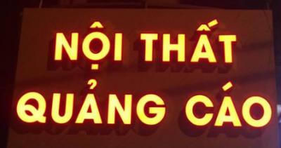 Thiết kế thi công bảng hiệu tại Đà Nẵng 0974480518