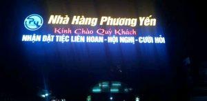 Thị công bảng hiệu đẹp tại Đà Nẵng