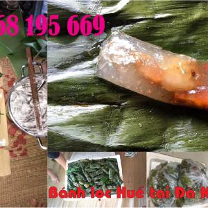 Làm bánh lọc huế tại đà nẵng 0968195669