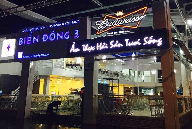 Làm bảng hiệu nhà hàng tại Đà Nẵng 0974480518