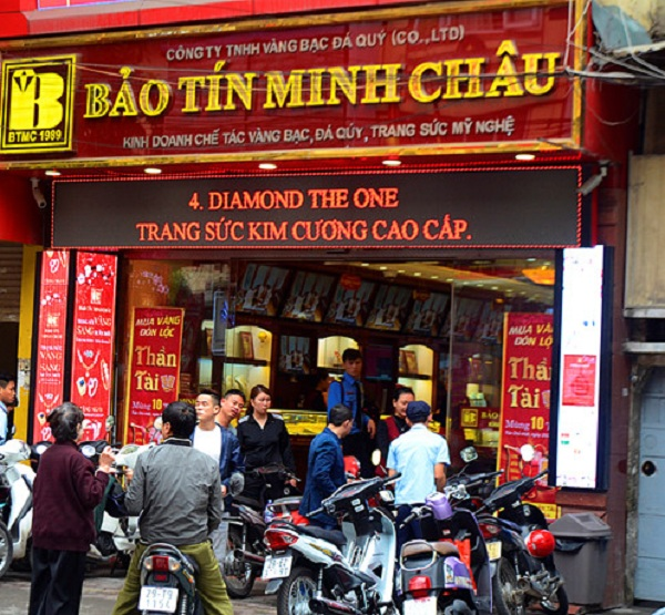 Thi công làm bảng hiệu tiệm vàng đẹp ở Đà Nẵng LH: 0974480518