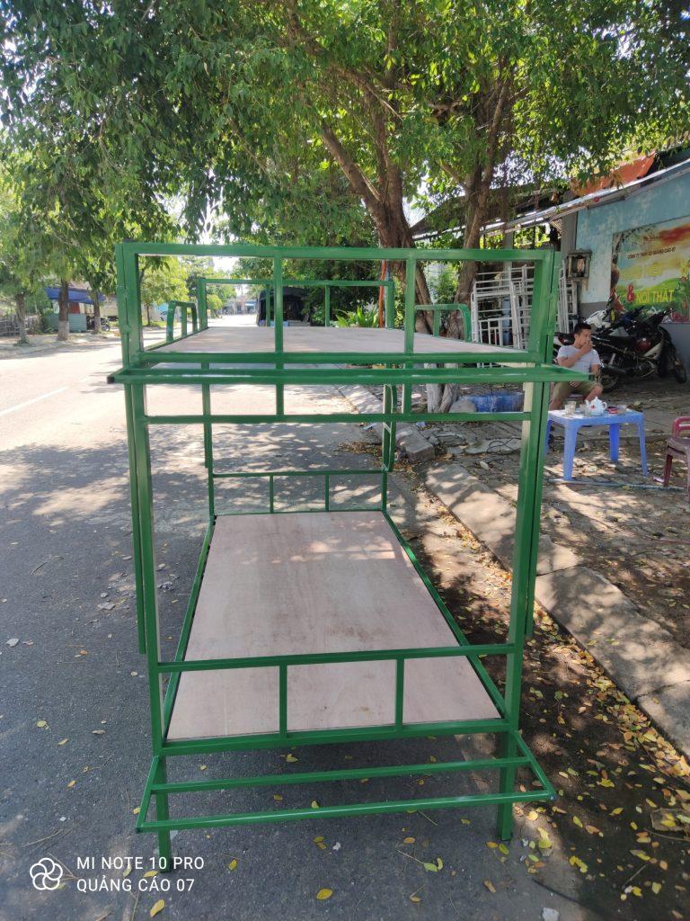 Giường tầng sắt quân đội tại Đà Nẵng LH: 097 448 0518