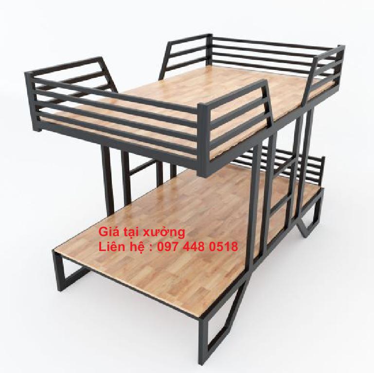 Thiết kế giường tầng sắt tại Đà Nẵng LH: 097 448 0518