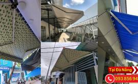 Hoàng thiện thi công lắp đặc mái quay di động giá rẻ tại Đà Nẵng
