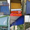 Hoàng thiện thi công lắp đặc mái thả giá rẻ tại Đà Nẵng