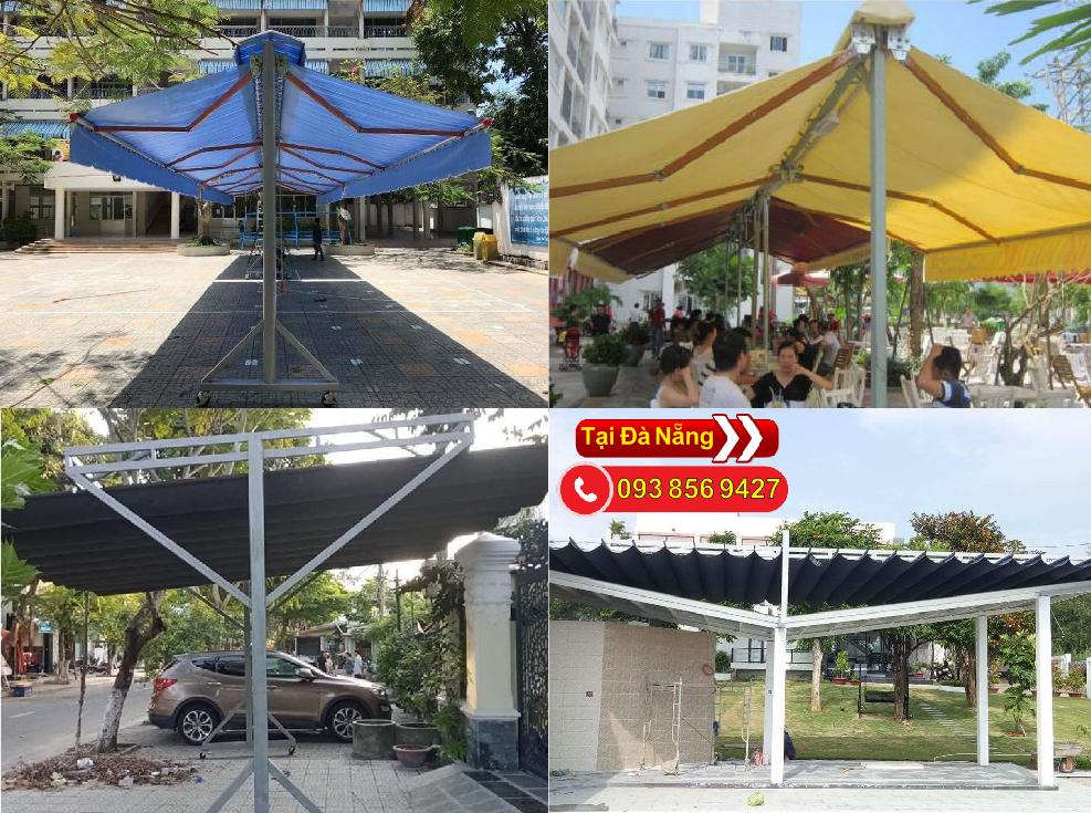 Hoàng thiện thi công lắp đặc mái hiên chữ a giá rẻ tại Đà Nẵng